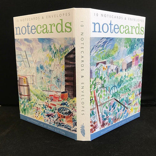 Allotments Notecards by Emily Sutton