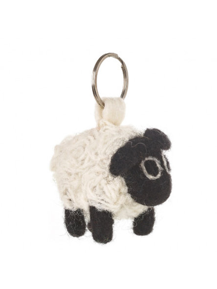 Felt So Good Black Sheep Keyring