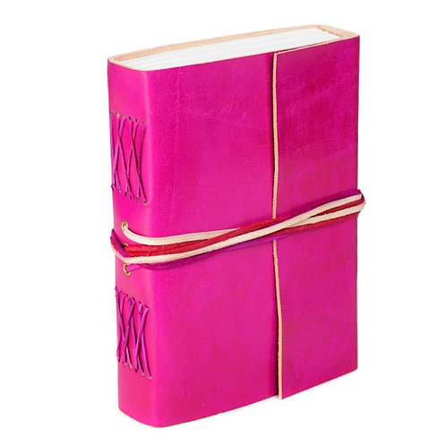 Paper High Three-String Leather Journal (Various Colours)