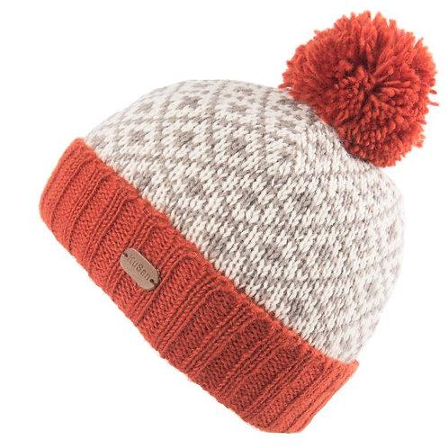 KuSan Fleur de Lis Bobble Hat