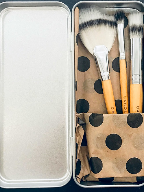 Bathing Beauty It's All About the Face Vegan Make-up Brushes