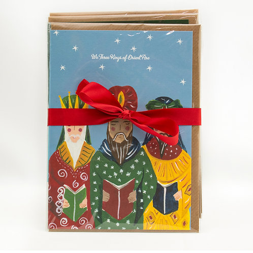 Hutch Cassidy Christmas Cards – 4 different