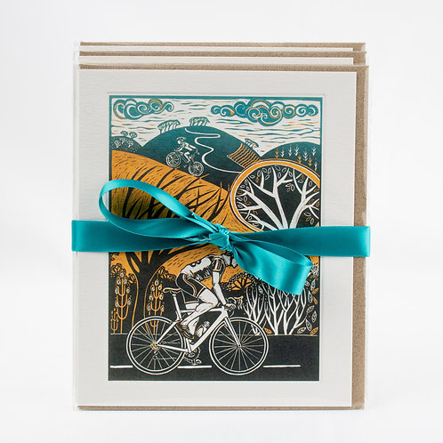 Cycling Cards – 4 different