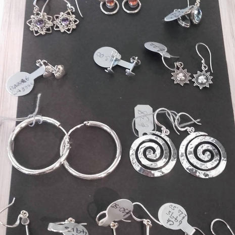 Sterling silver jewellery made in Bali and Indonesia