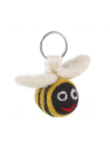 Felt So Good Bee Keyring