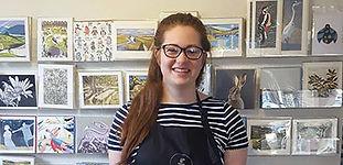 Fair Trader volunteer Megan