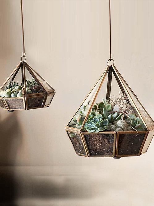 Nkuku Mina Hanging Terrarium