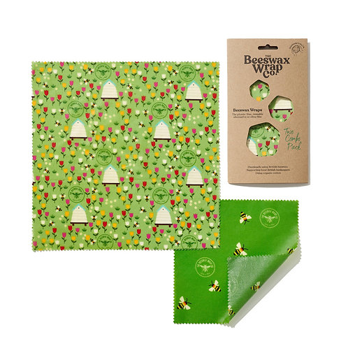 Beeswax Wrap - Small (2-pack)