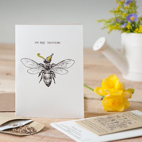 Ha-Bee Seed Card
