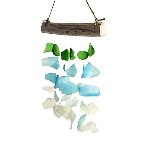 Recycled Glass Windchime