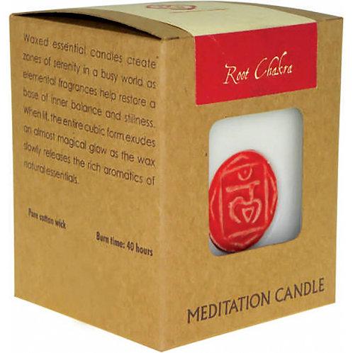 Chakra Meditation Candle - Root Chakra