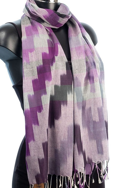 York Scarves Tribal Weave Scarf