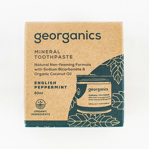 Georganics Natural Toothpaste (3 Flavours)