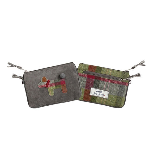 Earth Squared Tweed Juliet Purse