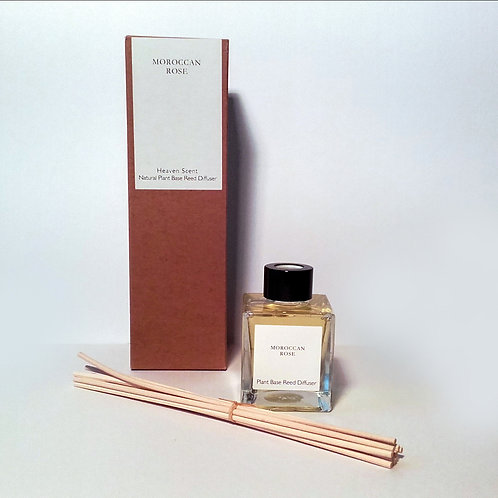 Fragrance Oil Reed Diffuser - Moroccan Rose