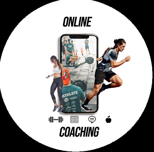 Coaching en Ligne : live stream + suivi nutrition