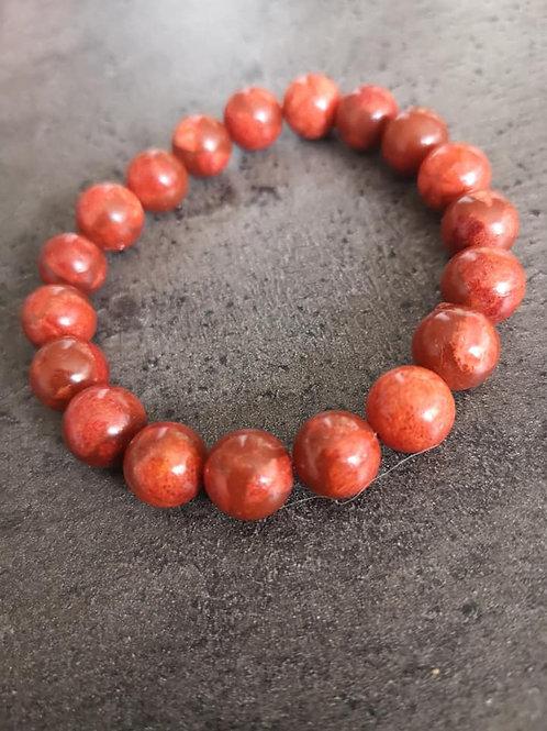 bracelet en Corail Gorgone