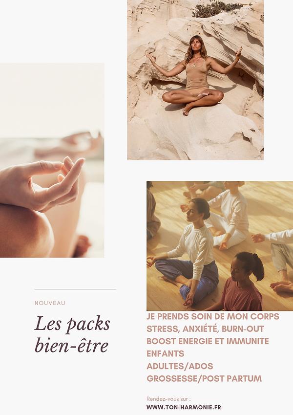 Poster montage photo soleil et yoga (1).