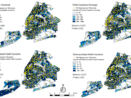 Impact of Health Insurance Coverage on HIV Diagnosis Rate in New York City for Young Adults