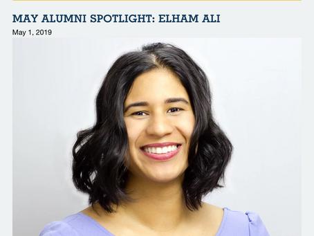 May Alumni Spotlight: Elham Ali - YES Programs