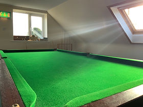Upstairs Room Snooker Table