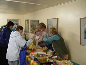 Committee Room - Cake Stall