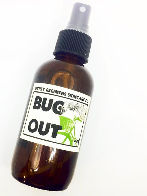 Bug Out. Organic Mosquito Repellant