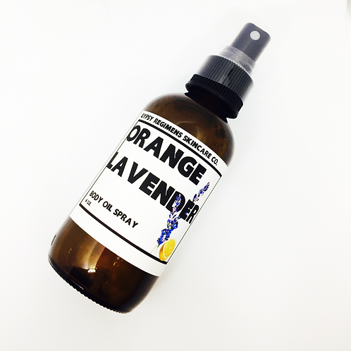 Natural Body Oil Spray