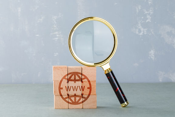 conceptual-internet-search-with-wooden-b