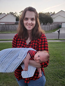 breastfeeding mom with baby