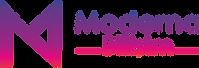 moderna son logolar renkler-renkli yatay
