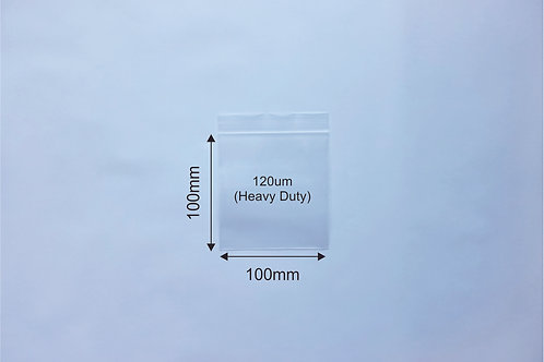 Custom Resealable Bag: 100x100x120um (3,500pcs ONLY) - 30% OFF!