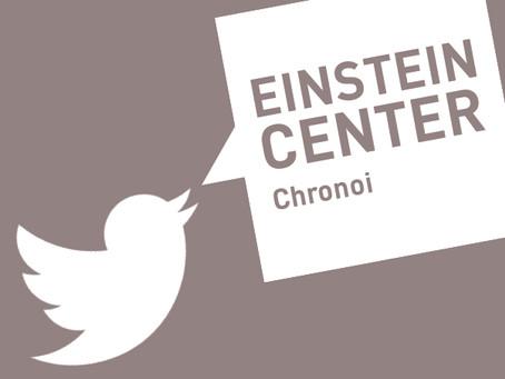 Einstein Center Chronoi Joins Twitter