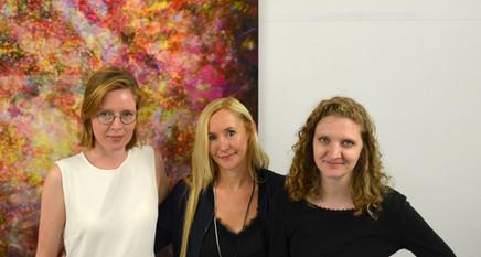 Lowland Curators Anne Pflug, Christiana Teufel, Damaris Wurster