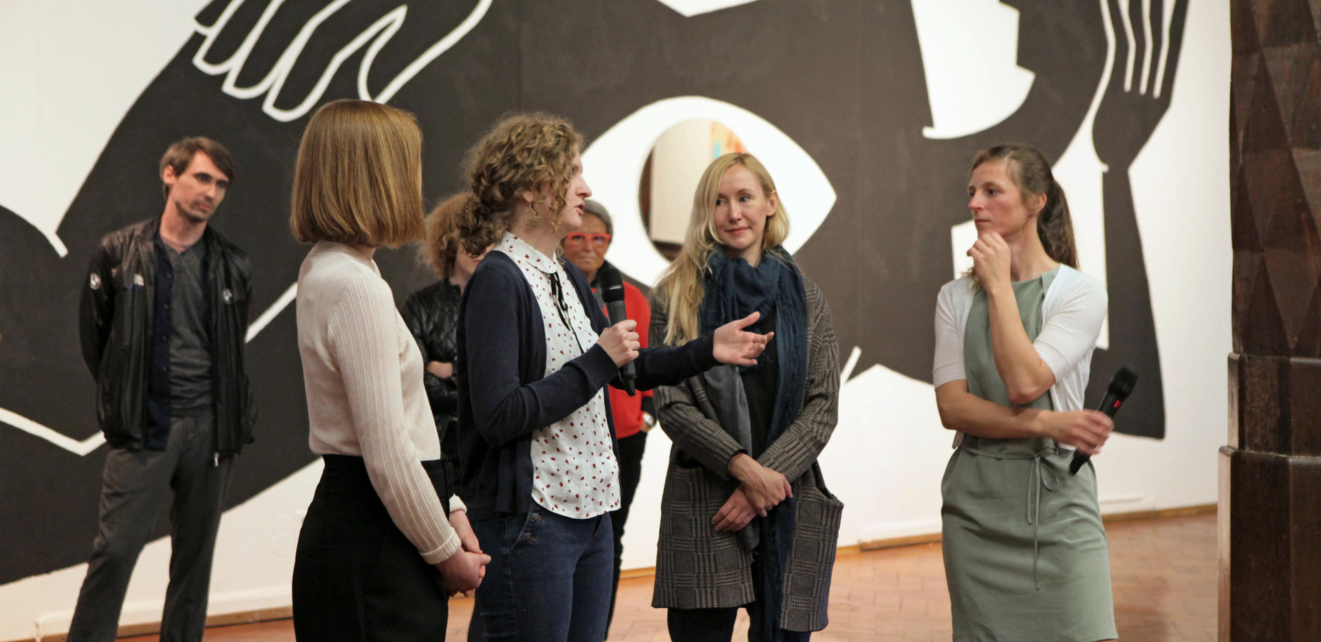 Künstlergespräch mit Kuratorn Katharina Ritter
