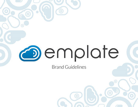 Emplate Brand Guidelines Cover