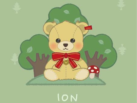 かわいい♡森のくまさんオリジナル壁紙プレゼント