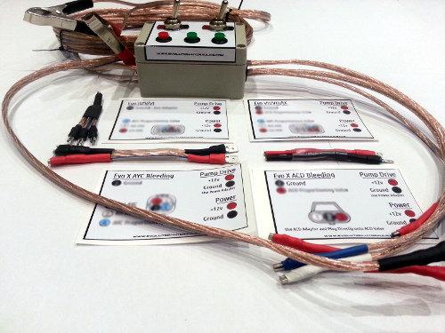 AYC / ACD Bleed / Control Box Evo 4-10 & Gauge Set