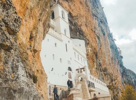 Voyage au Monténégro en 10 jours : le monastère d'Ostrog