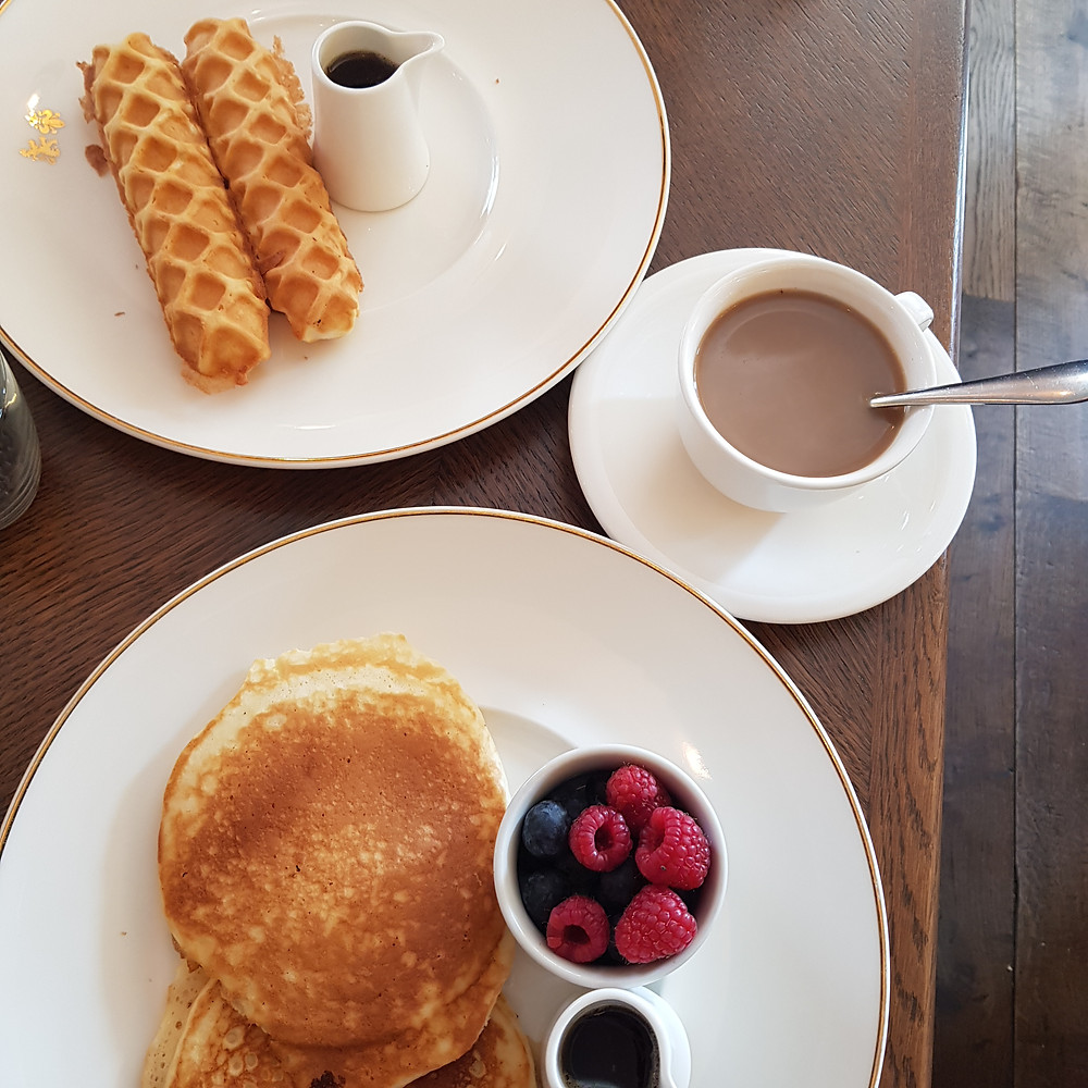 petit déjeuner hôtel Balmoral Edimbourg
