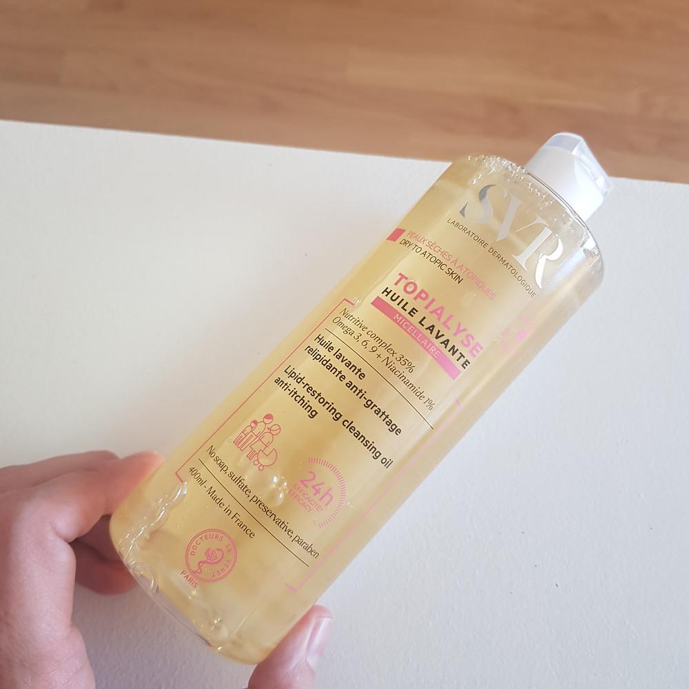 huile lavante micellaire Topialyse de SVR
