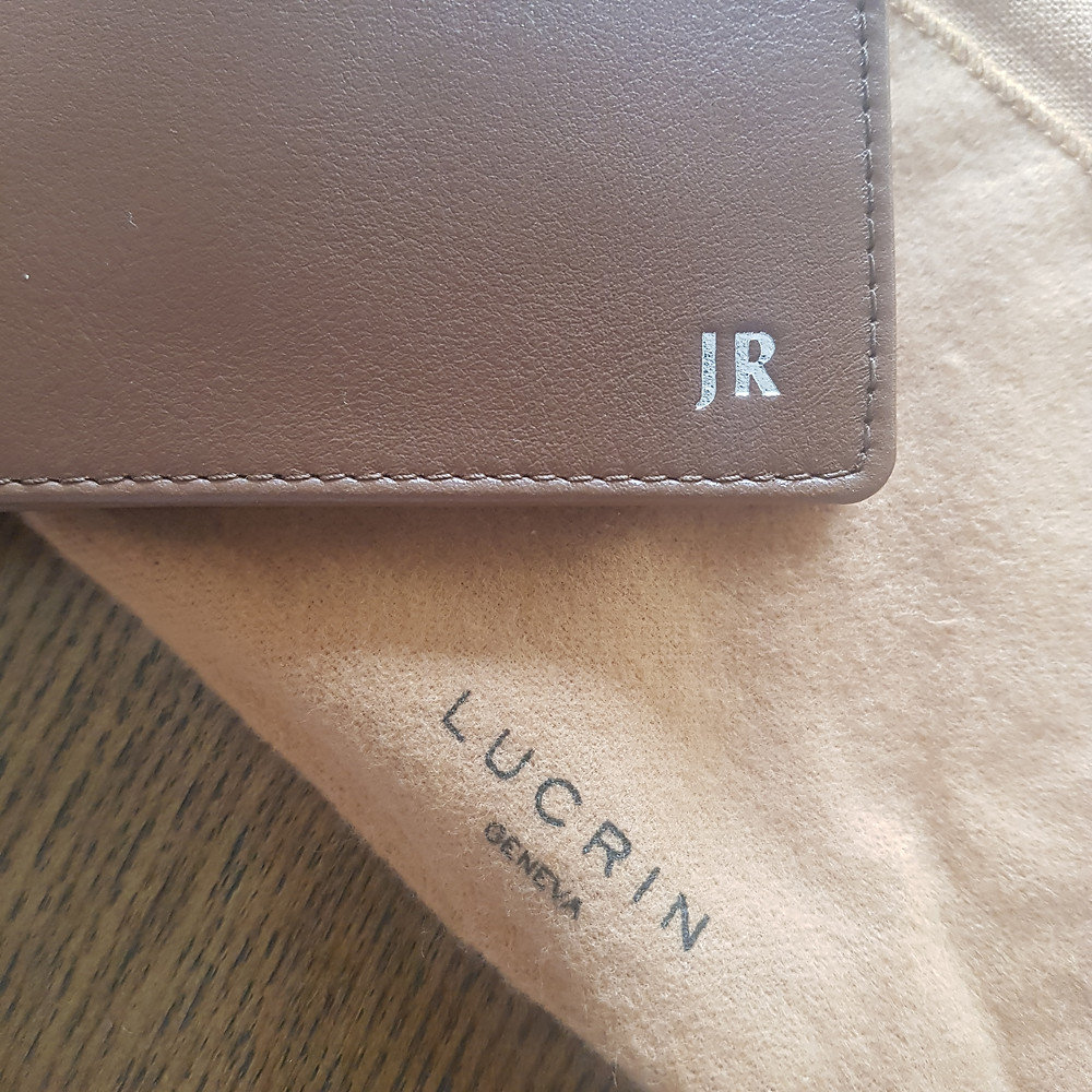 porte-monnaie maison Lucrin