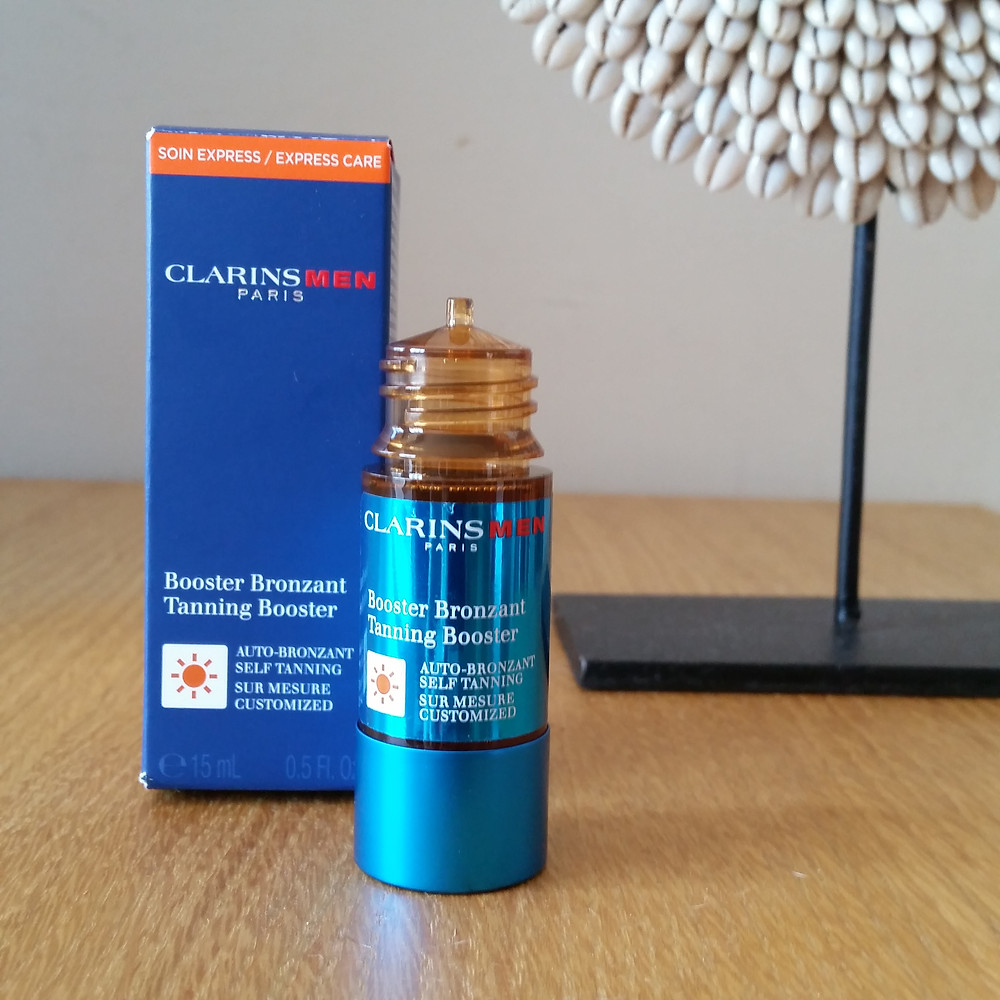 Booster Bronzant Clarins Men
