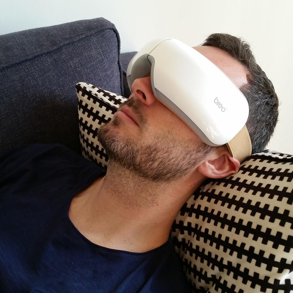 masque massant pour les yeux Breo d'iSee4