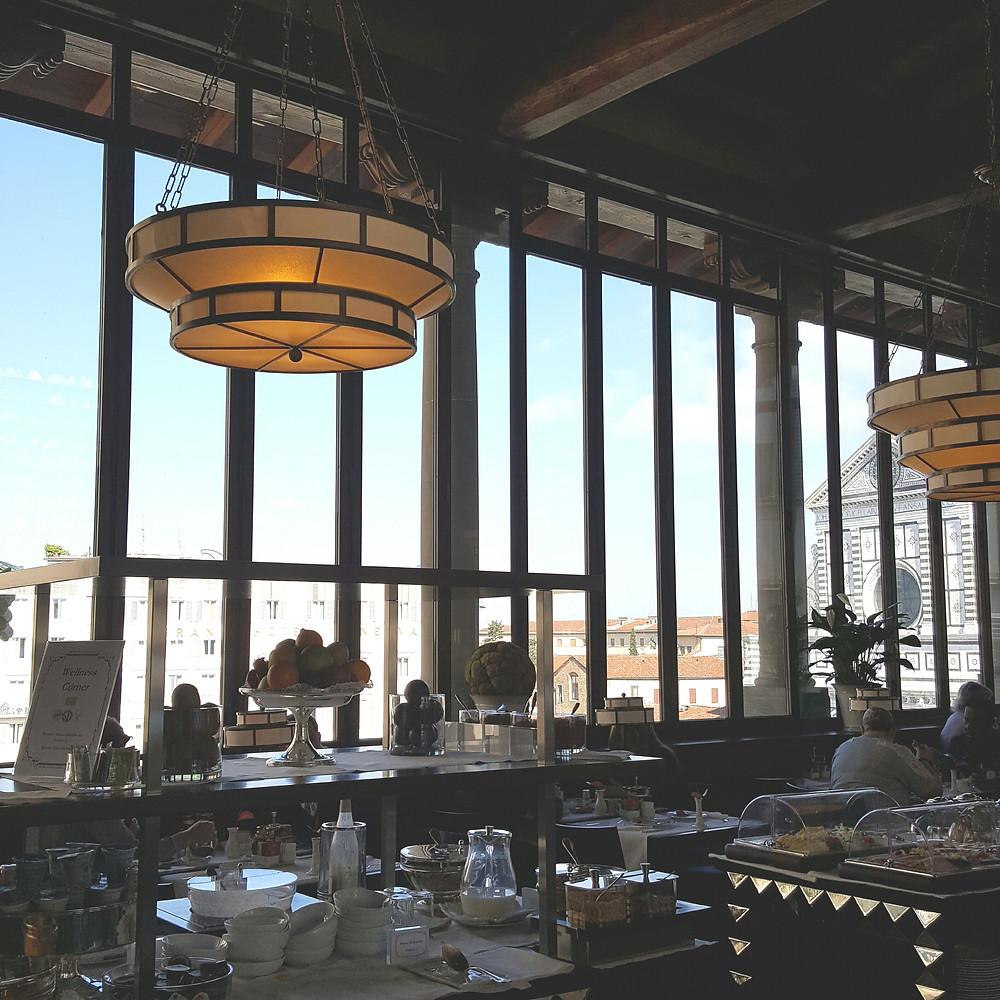 Salle Petit déjeuner hotel Orologio