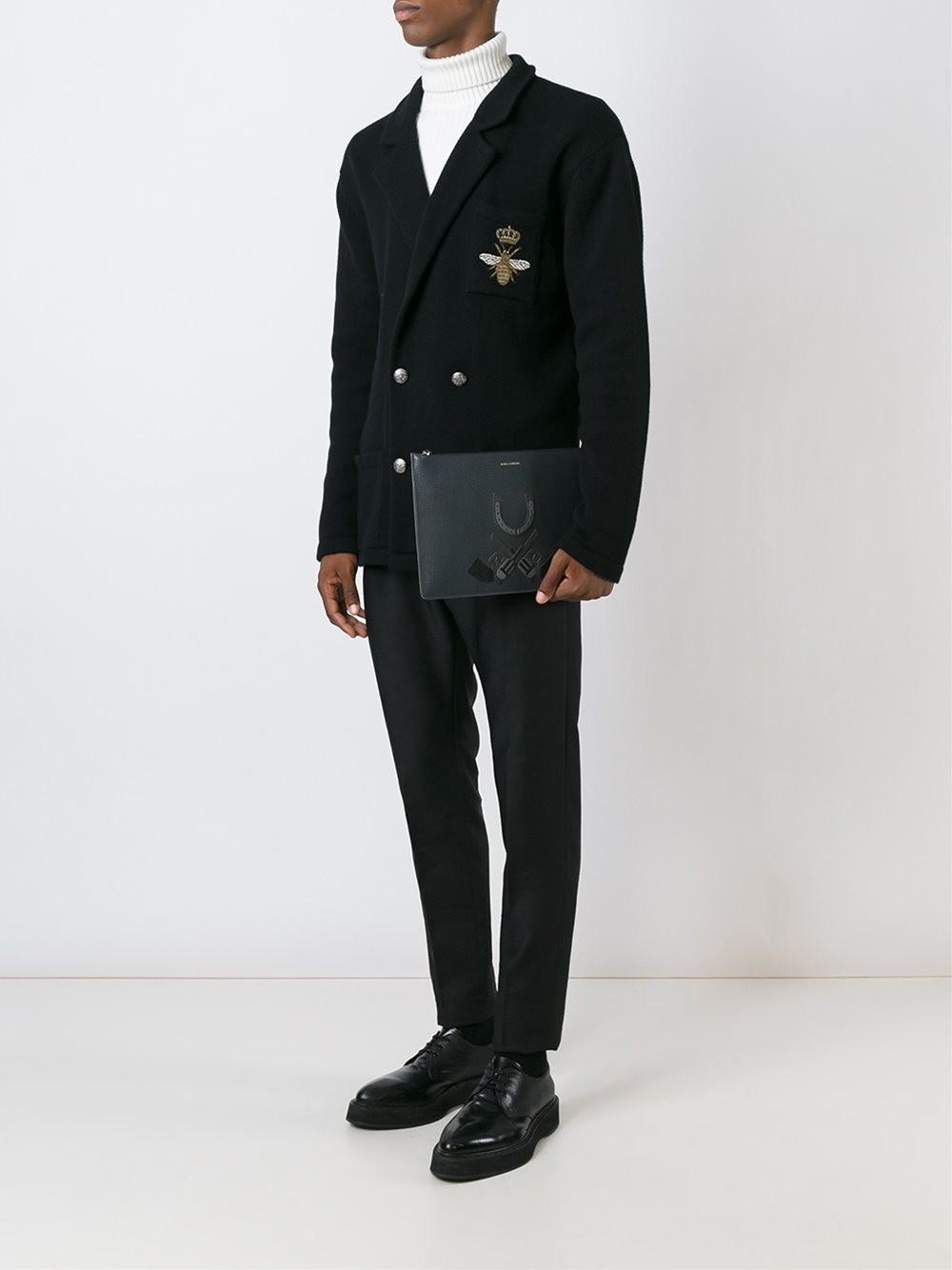 Pochette pour homme Western Dolce & Gabbana