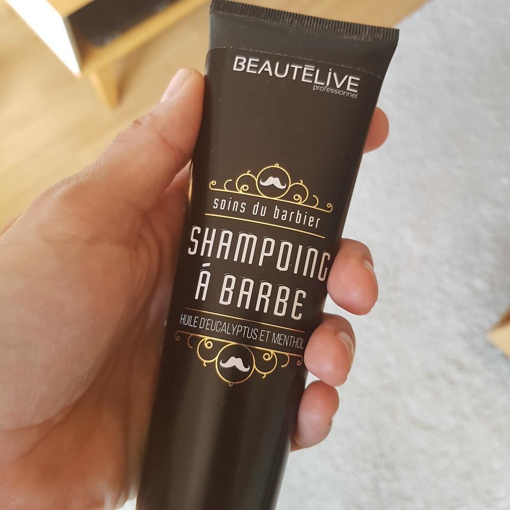 Shampoing à barbe Beautélive