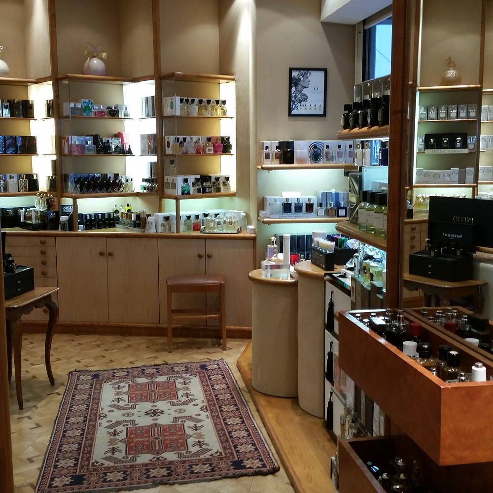 Parfumerie Tanagra à Nice