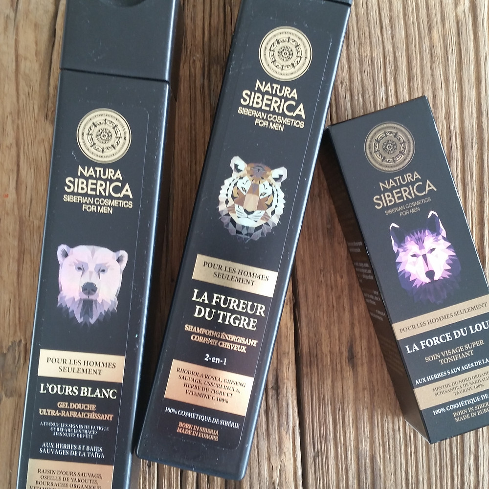 Shampooing Natura Siberica pour homme