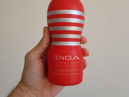 Test du masturbateur Original Vacuum Cup de Tenga, notre avis